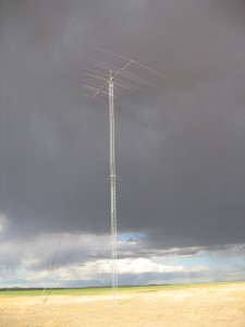 Force 12 5BA 15-element, 5 band antenna at QTH of Gary AD7XG