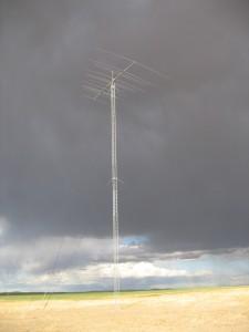 Force 12 5BA 15-element, 5 band antenna at QTH of Gary AD7XG