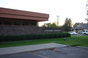 ARGONNE LIBRARY IN SPOKANE VALLEY
